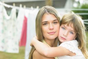 Дитячий одяг потрібно прати і зберігати окремо від одягу дорослих
