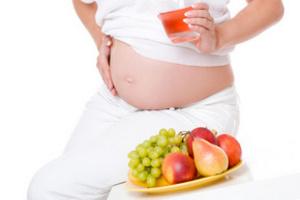 вагітним слід налягати на овочі та фрукти
