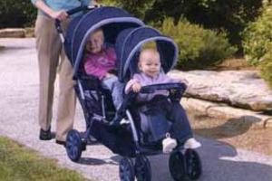 коляска для однолітків