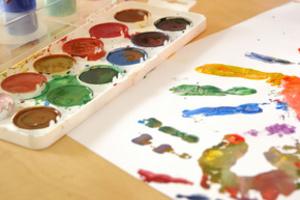 вчимо малюків малювати