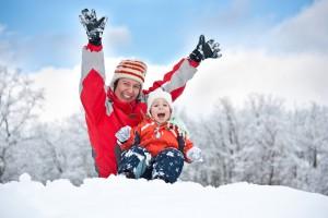 Зимова прогулянка з дитиною