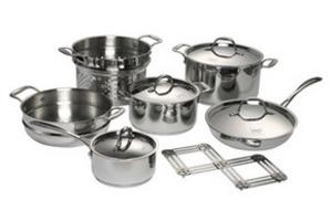 Посуд з нержавіючої сталі красивий і практичний