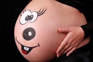 Уход за телом во время беременности