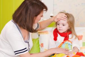 Правильне харчування та дотримання режиму дня захистять дитину від простуд