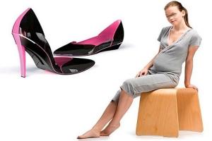Вагітність і туфлі на каблуках