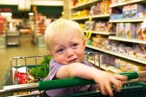 З дитиною у магазин