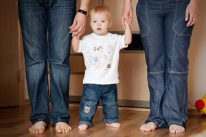 Стильні малюки в джинсах