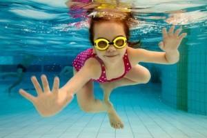 Головне, щоб дитина не боялася води