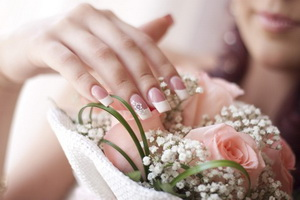 Манікюр для весілля
