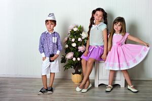Дитячий одяг для літньої вечірки