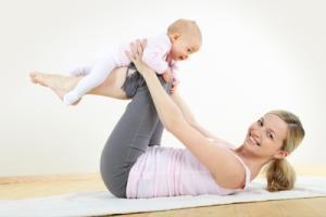 Правила схуднення після вагітності