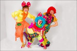 Клоуни та аніматори на дитячому святі