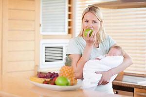 Дієта годуючих мам для зниження ваги і схуднення