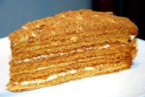 Медовий торт рецепт