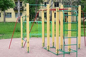 Спортивная детская площадка