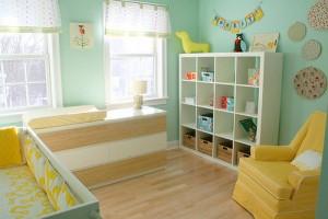 Вікна в дитячій кімнаті