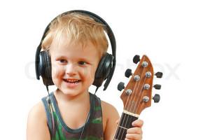 Гітара і дитина