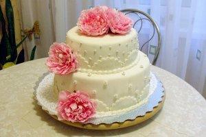 Модні весільні торти 2014