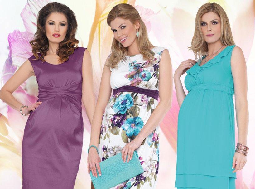 Какие платья носить беременным фото 57
