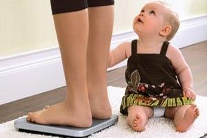 як скинути вагу після вагітності