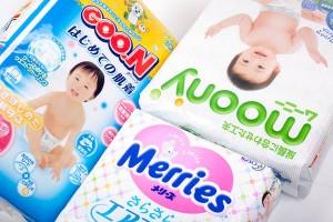 Японські підгузники і трусики Moony