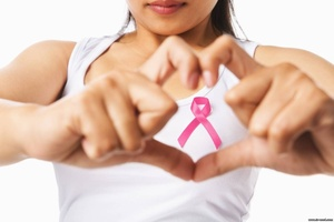 Обследование груди с помощью маммографа