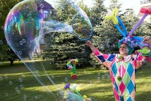 Шоу мульных пузырей
