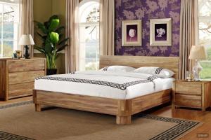 Ліжко з масиву дуба