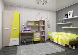 обставить мебелью детскую комнату